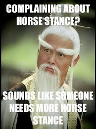 horsestance